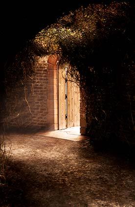 Door into a Garden